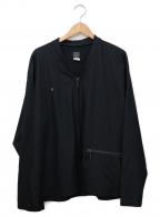 POST O'ALLS(ポストオーバーオールズ)の古着「ルーズカーディガン」|ネイビー