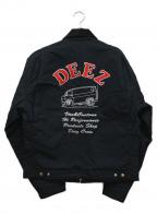 CarHartt(カーハート)の古着「DEEZ CREWコラボジャケット」|ブラック