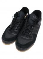 adidas Originals(アディダスオリジナル)の古着「ローカットスニーカー」 ブラック×ベージュ