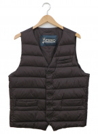 HERNO(ヘルノ)の古着「インナーダウンベスト」 ブラウン