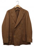 TAGLIATORE(タリアトーレ)の古着「ウールダブルジャケット」|ブラウン