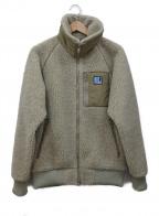 HELLY HANSEN(ヘリー ハンセン)の古着「ボアフリースジャケット」|ベージュ