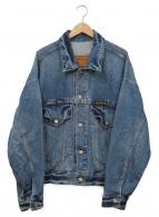 ()の古着「ビッグデニムジャケット」 インディゴ