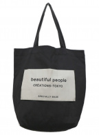 beautiful people(ビューティフルピープル)の古着「トートバッグ」|チャコールグレー