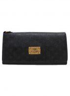 ()の古着「コラボ2つ折り財布」|ブラック