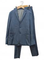 VALENTINO(ヴァレンティノ)の古着「インディゴセットアップ」|インディゴ