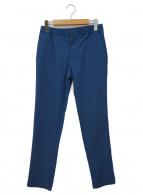 ()の古着「バーブライトスリムパンツ」|ブルー