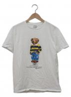 ()の古着「ベアープリントTシャツ」|ホワイト×ブラウン