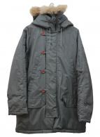 ()の古着「N-3Bタイプコート」 カーキ