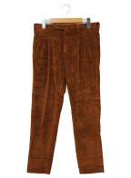 PT01(ピーティーゼロウーノ)の古着「コーデュロイパンツ」 ブラウン