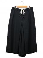 s'yte(サイト)の古着「袴ワイドパンツ」 ブラック