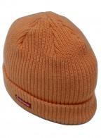 SUPREME(シュプリーム)の古着「スモールボックスロゴニット帽」|オレンジ×レッド
