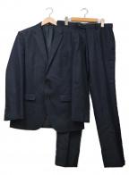 JOSEPH HOMME(ジョゼフ オム)の古着「ウールセットアップスーツ」 ネイビー