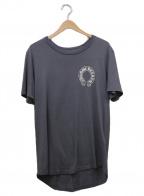 CHROME HEARTS(クロムハーツ)の古着「バックロゴプリントTシャツ」|グレー×ホワイト