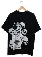 s'yte(サイト)の古着「プリントTシャツ」 ブラック×ホワイト
