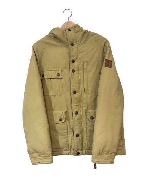 Franklin & Marshall(フランクリン&マーシャル)Franklin & Marshall (フランクリン&マーシャル) 中綿マウンテンパーカー ベージュ サイズ:XSの古着・服飾アイテム