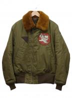 TOYS MCCOY(トイズマッコイ)の古着「B-15Aジャケット」|オリーブ