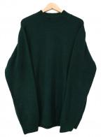 mars knitwear(マーズニットウェア)の古着「モックネックニット」|グリーン