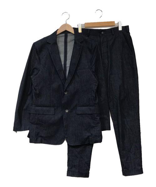 BASSEN WORKS(バッセンワークス)BASSEN WORKS (バッセンワークス) デニムセットアップ インディゴ サイズ:Mの古着・服飾アイテム