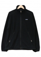 ()の古着「フリースジャケット」|ブラック