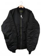 ()の古着「別注N-3Bフライトジャケット」 ブラック
