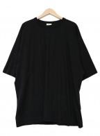 DRIES VAN NOTEN(ドリスヴァンノッテン)の古着「クルーネックカットソー」|ブラック