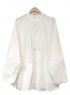 ()の古着「オーバーサイズシャツジャケット」|ホワイト