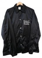 BEDWIN &THE HEARTBREAKERS(ベドウィンアンドザ ハートブレイカーズ)の古着「コーチジャケット」|ブラック