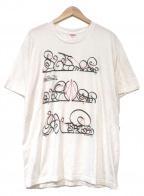 SUPREME(シュプリーム)の古着「システムTシャツ」|ホワイト×レッド