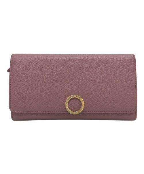 BVLGARI(ブルガリ)BVLGARI (ブルガリ) 長財布 ピンクの古着・服飾アイテム