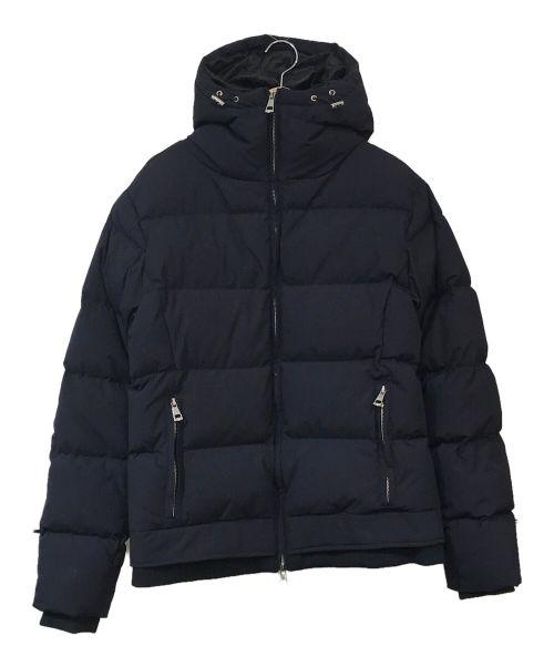 AKM(エーケーエム)AKM (エーケーエム) 裏地ジャガードダウンジャケット ネイビー サイズ:XLの古着・服飾アイテム