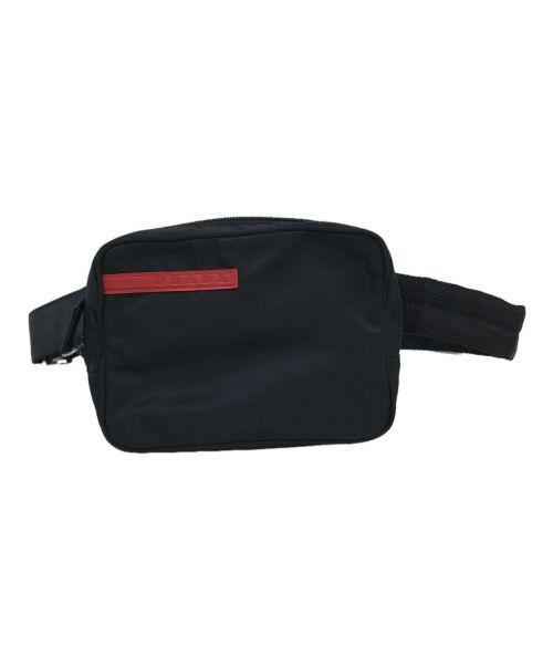 PRADA SPORTS(プラダスポーツ)PRADA SPORTS (プラダスポーツ) ミニウエストバッグ ブラックの古着・服飾アイテム