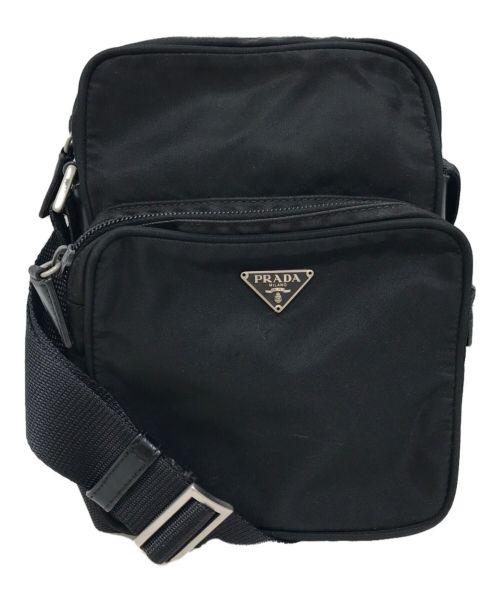 PRADA(プラダ)PRADA (プラダ) ミニショルダーバッグ ブラックの古着・服飾アイテム