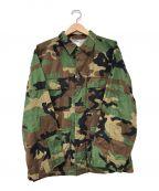 US ARMY()の古着「リップストップBDUジャケット」|カーキ×ベージュ