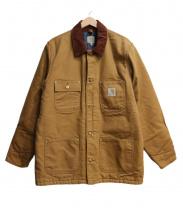 carhartt(カーハート)の古着「ダック地カバーオール」|ブラウン