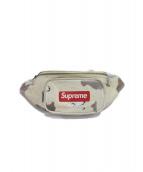 SUPREME(シュプリーム)の古着「leather waist bag Camo」 ブラウン×ベージュ