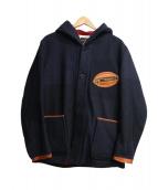 SUNNY SPORTS(サニースポーツ)の古着「フーデッドジャケット」|ネイビー