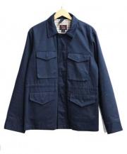 Woolrich(ウールリッチ)の古着「ハンティングジャケット」|ネイビー