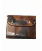OPUS(オーパス)の古着「3つ折り財布」|ブラック×ブラウン