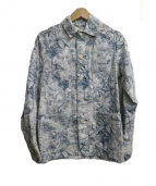 POST OALLS(ポストオーバーオールズ)の古着「エンジニアジャケット」|ホワイト×ブルー