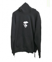 A BATHING APE(アベイシングエイプ)の古着「DOUBLE KNIT HIGH NECK PULLOVER」 ブラック
