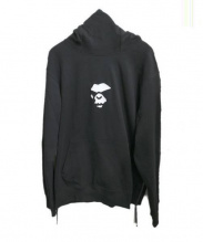 A BATHING APE(アベイシングエイプ)の古着「DOUBLE KNIT HIGH NECK PULLOVER」|ブラック