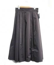 BALLSEY(ボールジー)の古着「ロングタックスカート」|グレー