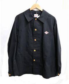 DANTON(ダントン)の古着「カバーオール」|ブラック