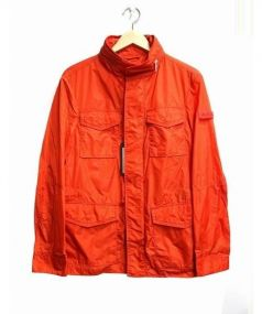 PEUTEREY(ピューテリー)の古着「ナイロンジャケット」|オレンジ