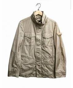 PEUTEREY(ピューテリー)の古着「ナイロンジャケット」|ベージュ