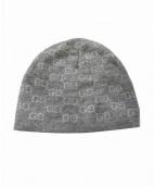 GUCCI(グッチ)の古着「ニット帽」 グレー