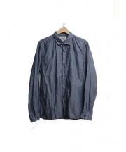 YAECA(ヤエカ)の古着「コンフォートシャツ」 ネイビー