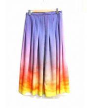 agnes b PRESTIGE(アニエスベープレステージ)の古着「ボリュームスカート」|パープル