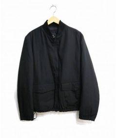Yohji Yamamoto(ヨウジヤマモト)の古着「リバーシブルブルゾン」|ブラック